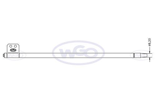 Empurrador mat. especial Ø10mm p/ tubo c/ furo Ø8,2mm | A-15 e  A-25 (cod. 1019)