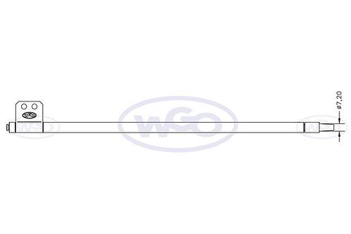 Empurrador mat. especial Ø10mm p/ tubo c/ furo Ø7,20mm | A-15 e A-25 (cod. 1018)