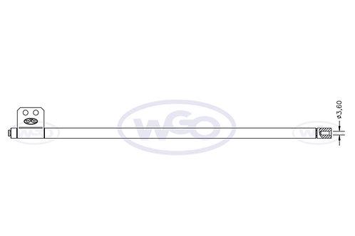 Empurrador de material Ø10mm p/ A-15 e A-25 (cod. 1013)