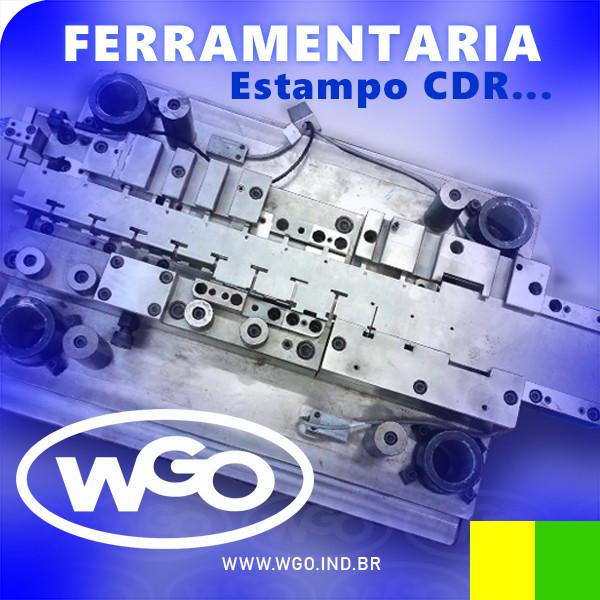 Ferramentaria demonstra projeto executado de Estampo CDR / Matriz de corte... por Ferramentaria em sp - WGO