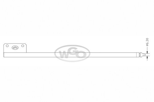 Empurrador mat. especial Ø10mm p/ tubo c/ furo Ø6,30mm | A-15 e A-25 (cod. 1017)