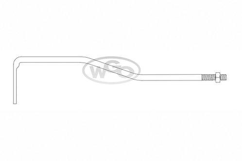 Haste de desengate para tubo silencioso p/ A-15 e A-25 (Cod. 2125)