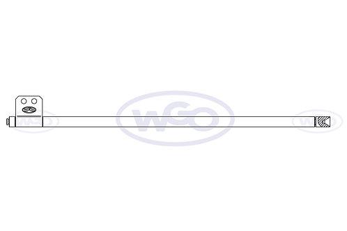 Empurrador de material Ø10mm p/ A-15 e A-25 (cód. 1010)
