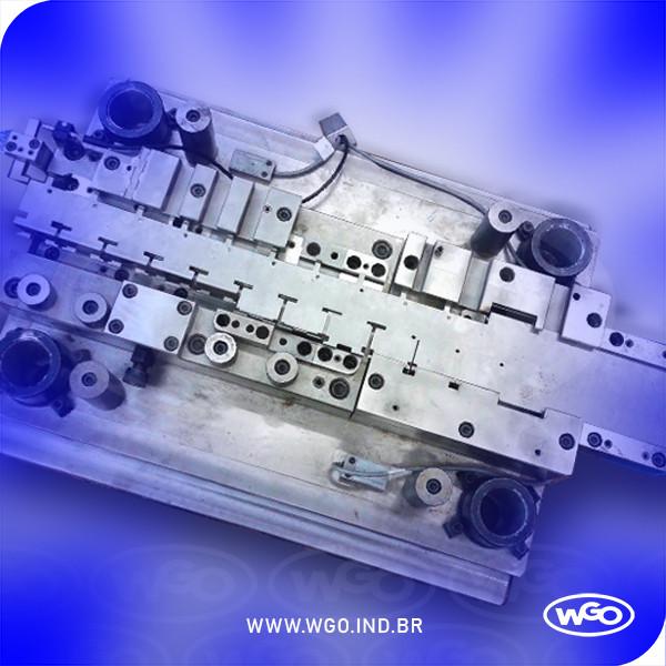 Foto de um Estampo CDR | Matriz fabricado pela ferramentaria wgo