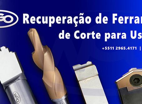 Sobre RECUPERAÇÃO de FERRAMENTAS ESPECIAIS DE CORTE para USINAGEM