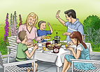 Family at breakfast table.jpg