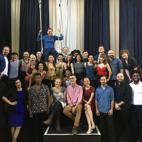 Workshop of a new circus musical
