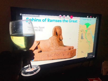Venturing to Ancient Egypt... From My Living Room!