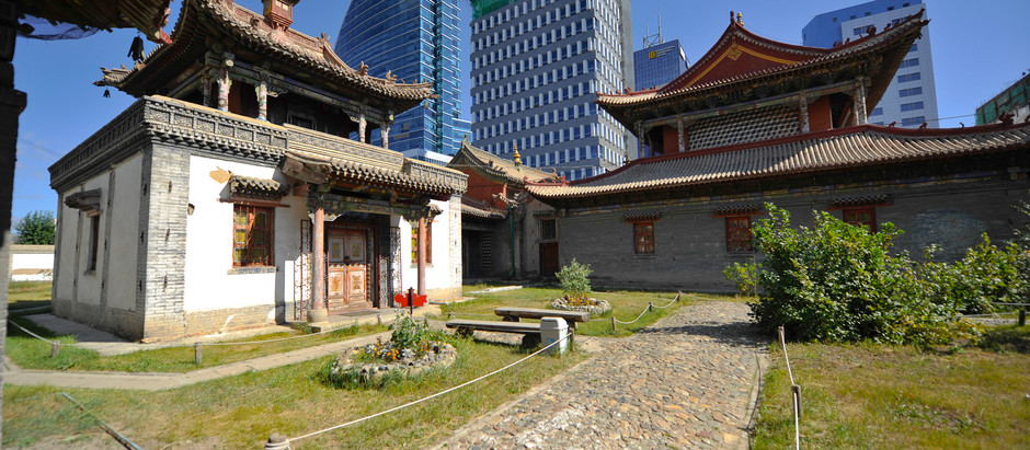 Visit the Choijin Lama Temple in Mongolia