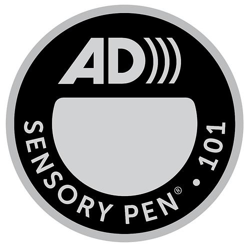 Audio Description (AD) Black/Silver Target