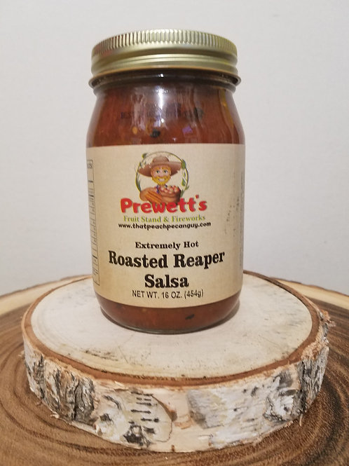 Extremely Hot Roasted Reaper Salsa