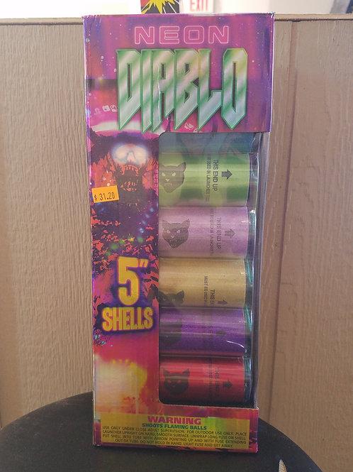 Neon Diablo 6 Shots
