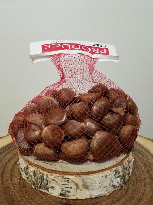2 lb Raw Chestnuts