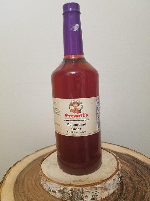 Muscadine Cider