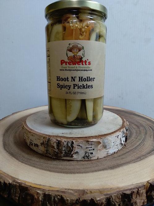 Hoot N' Holler Spicy Pickles