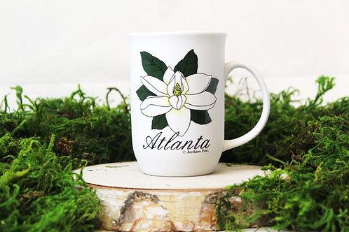 Atlanta Flower Ceramic Mug
