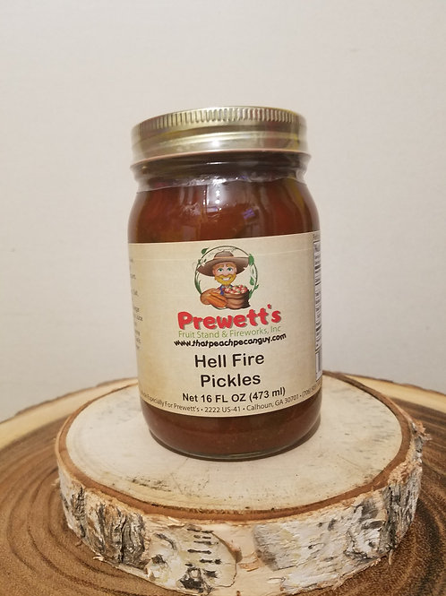 Hell Fire Pickles