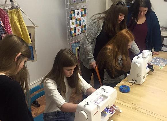 Teens Can Sew