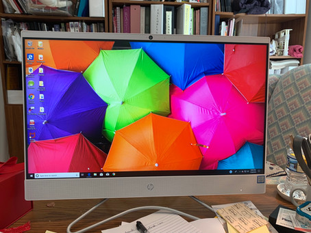 New School Computer!
