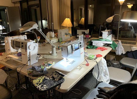 Annual Sewing Retreat