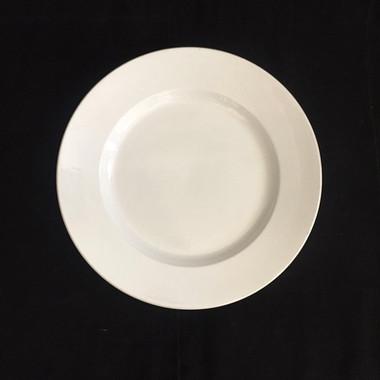 仏 クレイユモントロー白釉大皿