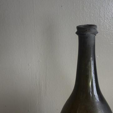 仏 18世紀初頭 ワインボトル A