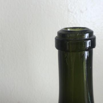 仏 19世紀 オニオンボトル
