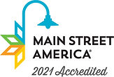 2021 Main Street America Accredited Logo