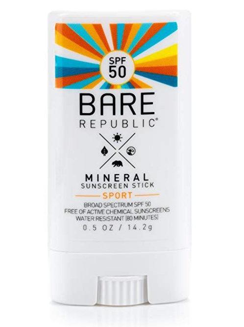 Mineral Sport 50SPF Stick