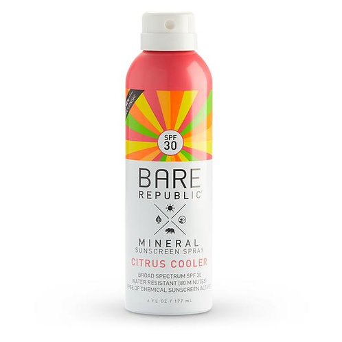 Mineral SPF 30 Sport Sunscreen Spray - Citrus Cooler