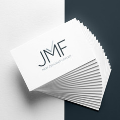 JMF logo design + branding