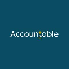 Accountable logo design