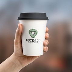 Bute & Co logo design + branding