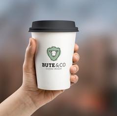 Bute & Co logo design + branding