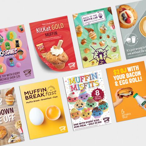 Foodco NZ creative campaign graphics