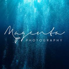Magenta Hyde Photography logo design