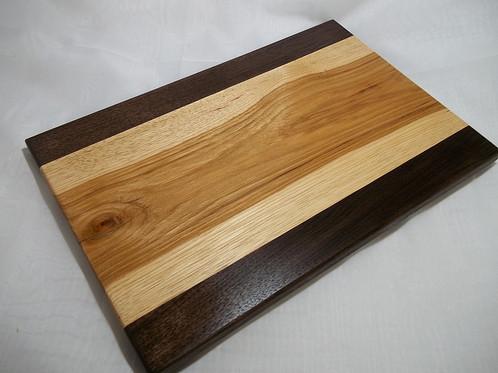 Walnut Amp Hickory Cutting Board Nth Woodworks Custom