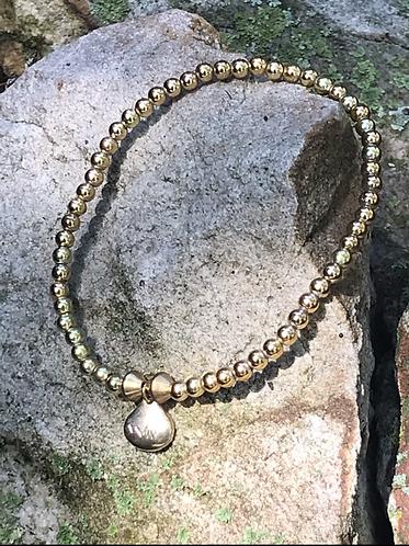 Golden Lucky Charm Bracelet