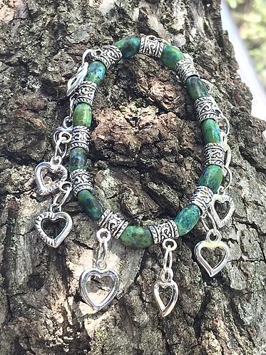 I Love Green Bracelet