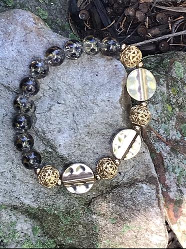 Golden Wildcat Bracelet