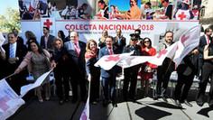 Arranca Colecta Cruz Roja Mexicana 2018
