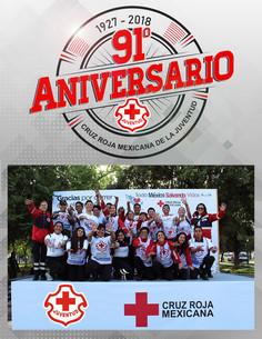 91° Aniversario de Cruz Roja Mexicana de la Juventud
