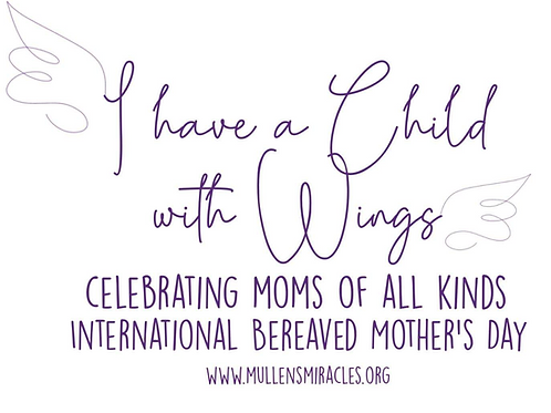 Bereaved Mother's Day 2021 (FREE T-Shirt)