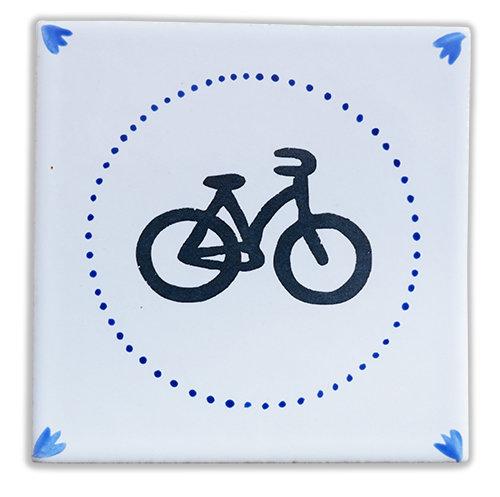 A Bicyclette bleu