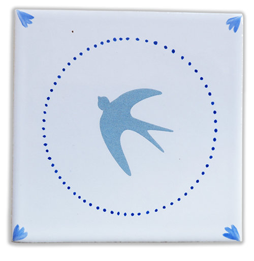 Blue Bird bleu