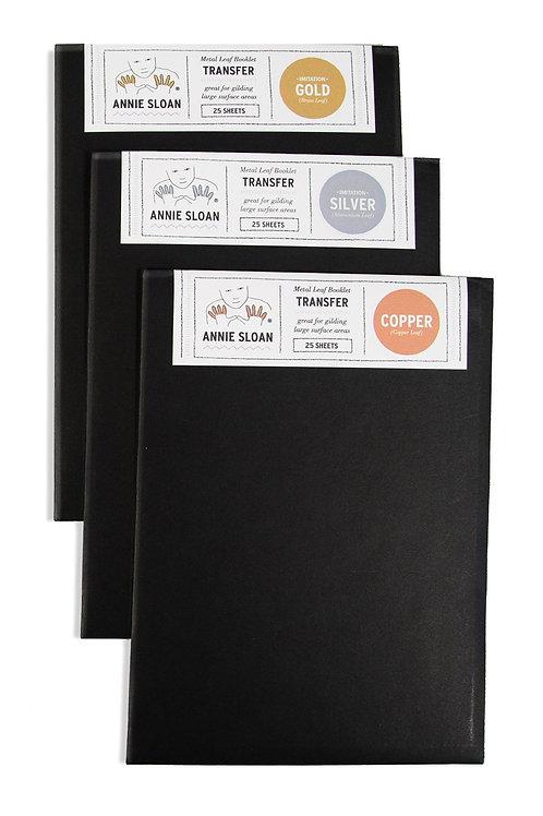 Metal Leaf Booklets - Transfer