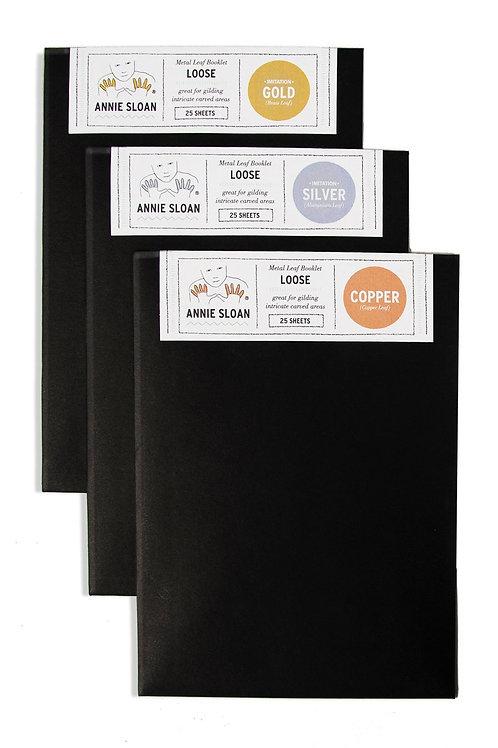 Metal Leaf Booklets - Loose