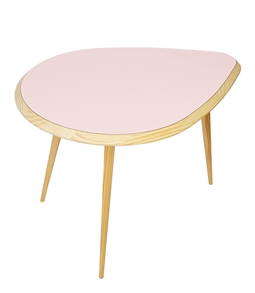 Raindrop Coffee Table Pink table basse goute rose