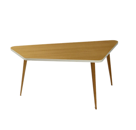 Trapezoid Coffee Table oak table basse chêne trapezoide