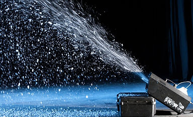 snow making, snow machine, theming, decor, conferences, events, event planning, polarleader